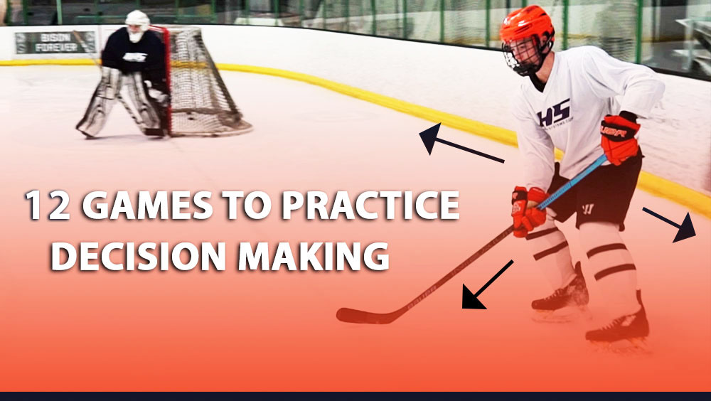 12 Small Area Hockey Games To Practice Decision Making