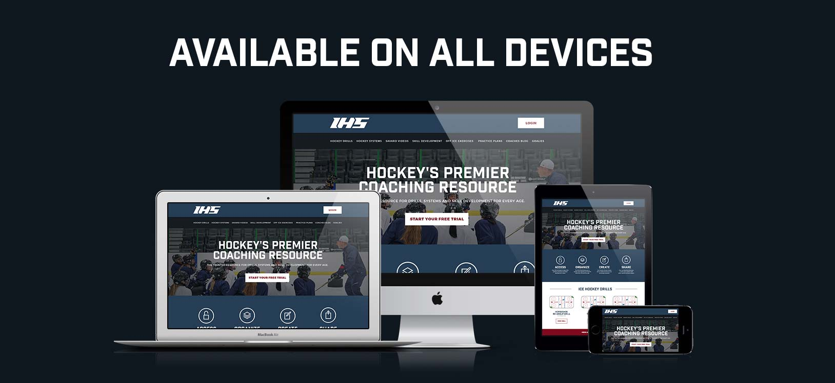 IHS is available on all devices