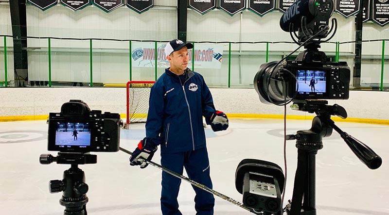 draw hockey drills online
