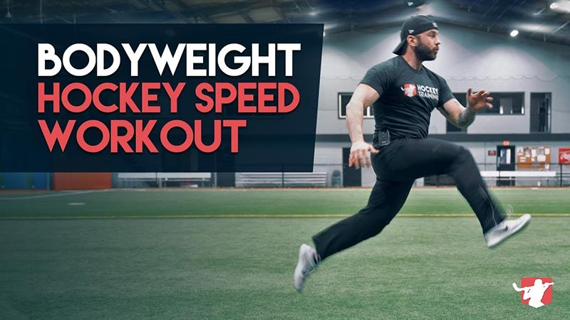 Hockey Speed Workout Using Body Weight Only