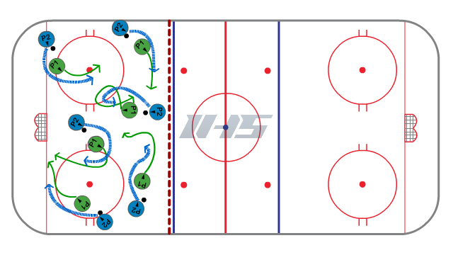 Chase the Rabbit Puck Control Activity