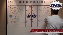Continuous Forechecking Hockey Drill