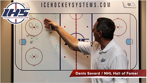 Offensive Zone Face-Off Wide D Play