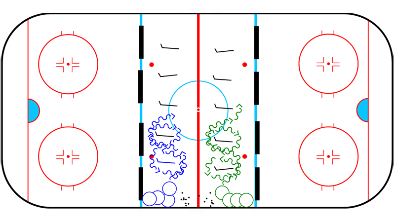 Open Hips Ladder with Pucks