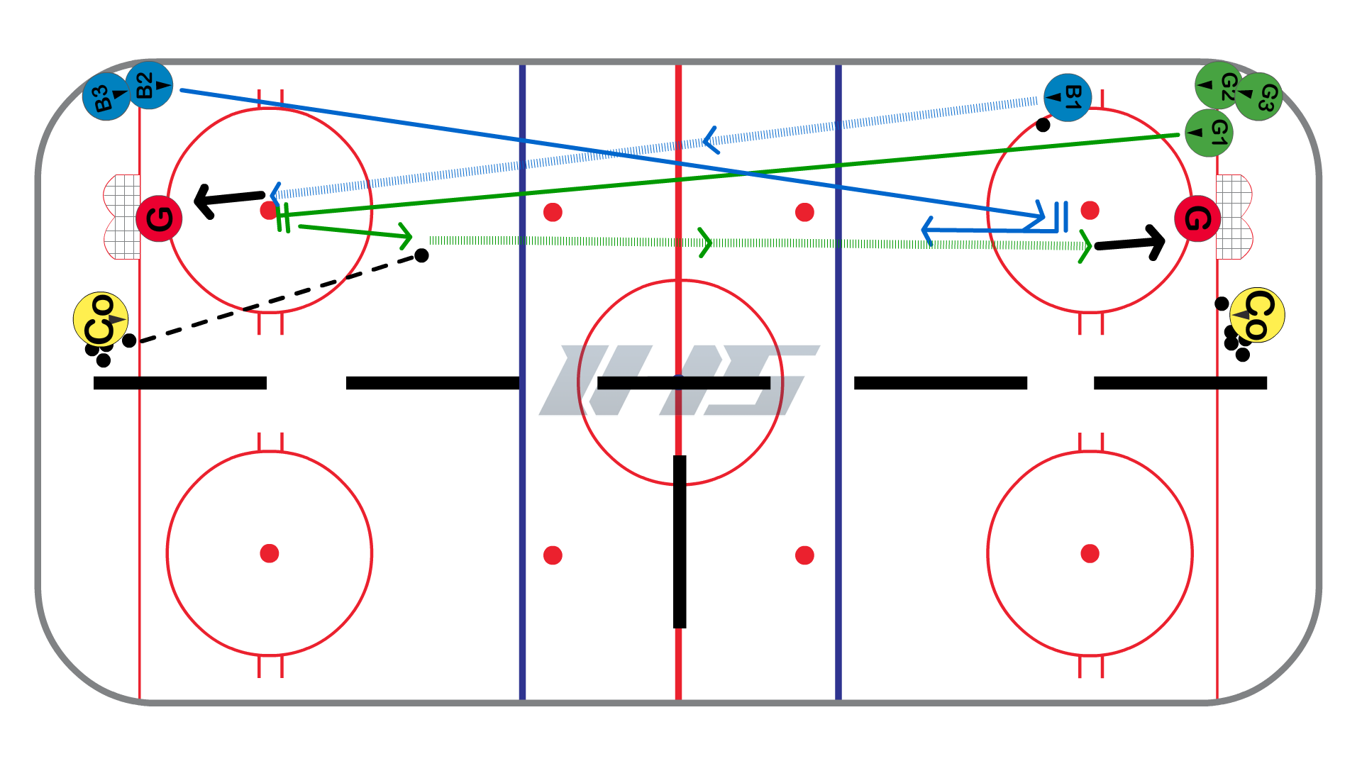 Split Ice Full Length Backcheck Game