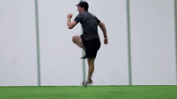 The Fartlek - Single Leg Bounding