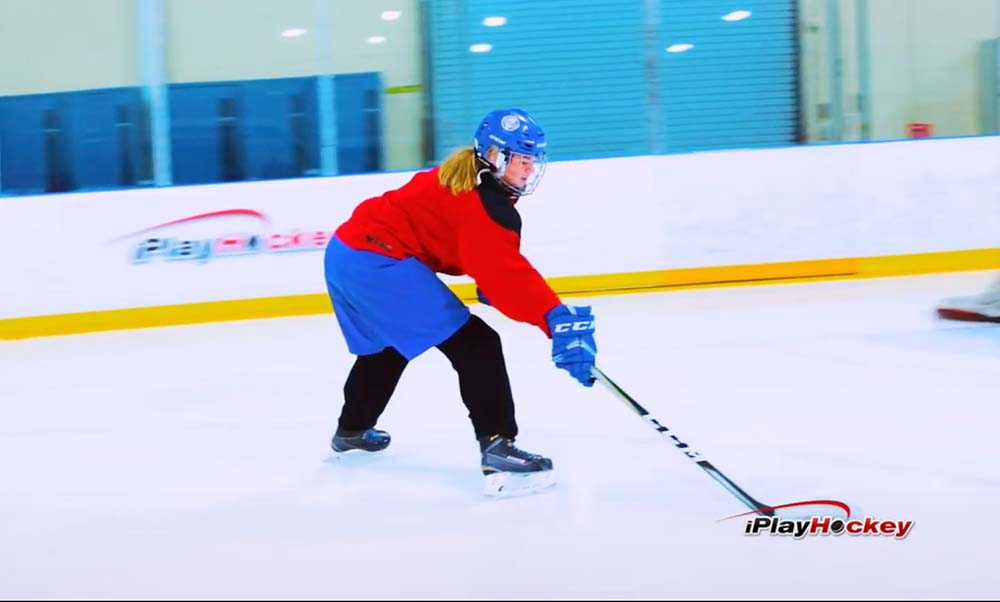 Give and Go Hockey Drill
