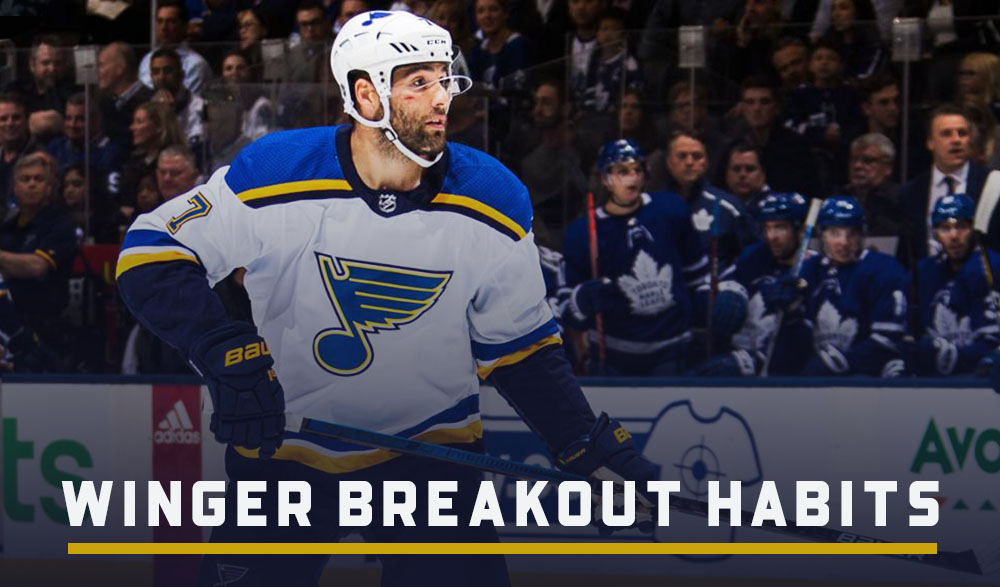 Winger Breakout Habits With Pat Maroon