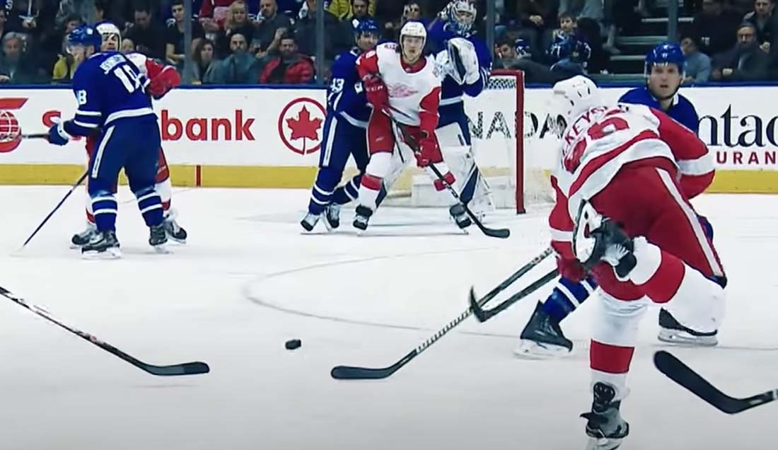 Hockey Redirects, Deflections and Tips