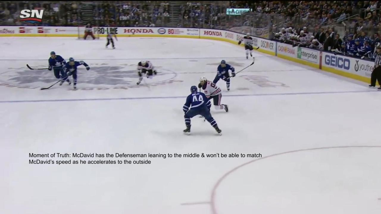 Conor McDavid Inside Out Goal