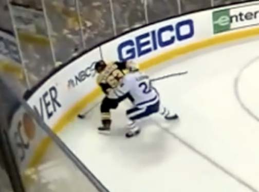 Brad Marchand Puck Protection