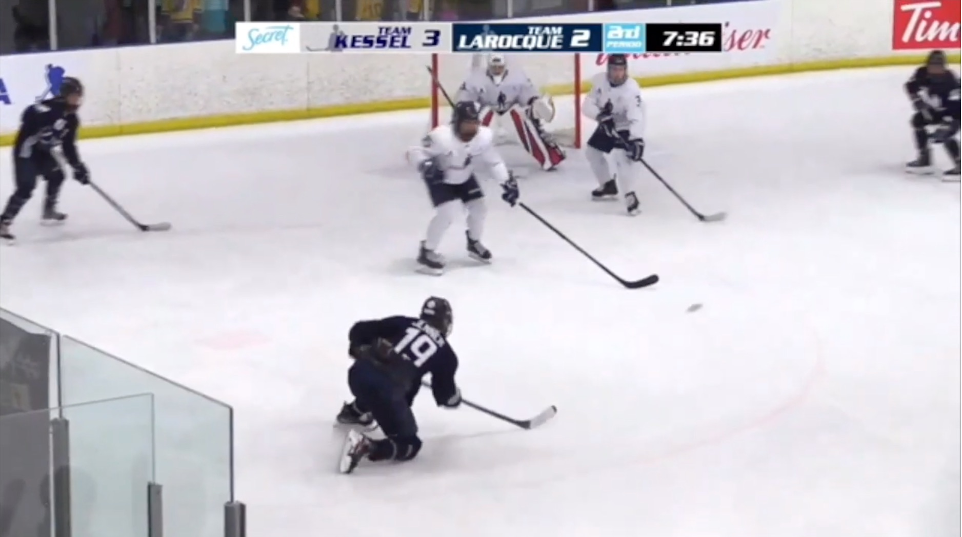 Brianne Jenner Deceptive Power Play Assist