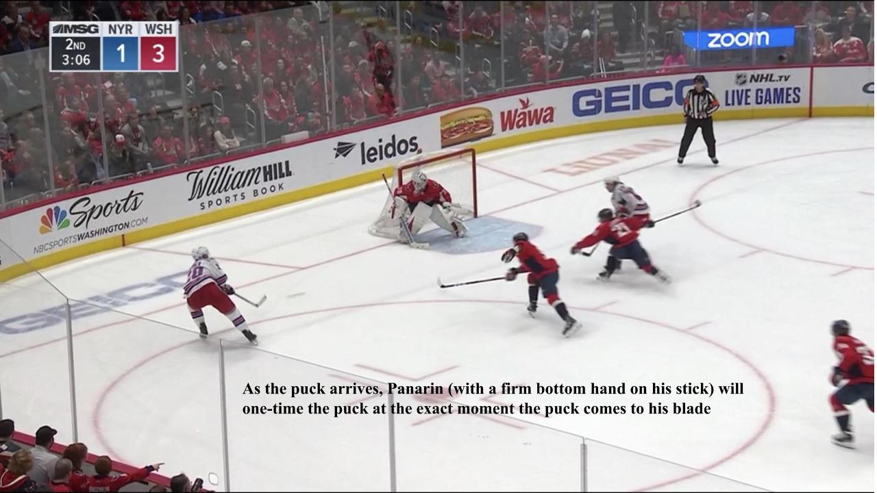 Panarin Drives to the Net