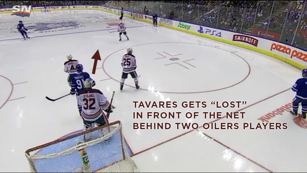 Tavares Playing Without The Puck