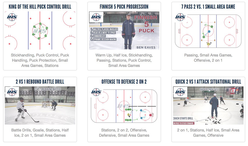 Small Area Hockey Game Ideas