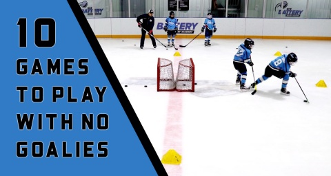 10 Hockey Games to Play With No Goalies