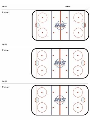 Blank Rink Diagram For Practice Online Schematic Diagram