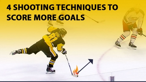 4 Hockey Shooting Techniques To Score More Goals