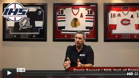 Denis Savard gives some advice for young hockey coaches