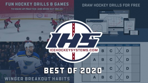 IHS Best Hockey Drills and Games of 2020