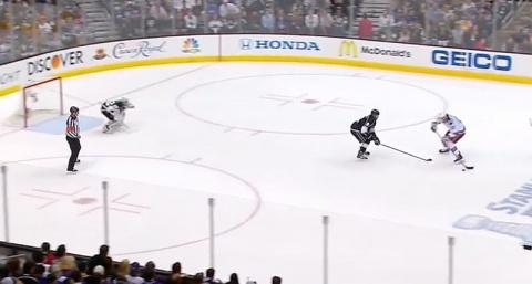 Boyle short handed goal