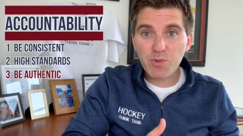 Topher Scott Discusses Accountability on ice Hockey Teams