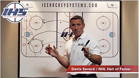 1-2-2 Forecheck Hockey System