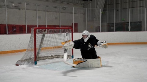 Blocker Save Progressions - Ice Hockey Goalie Training
