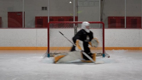 Butterfly Slide Progression - Ice Hockey Goalie Training