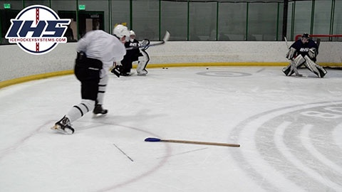 Changing Your Shot Angle While Skating