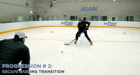 Defensive Transition Passing Progression