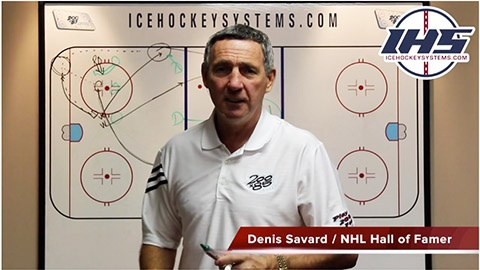 Defensive Zone Face Off Rush Play