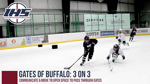 Gates of Buffalo 3 on 3 Small Area Game
