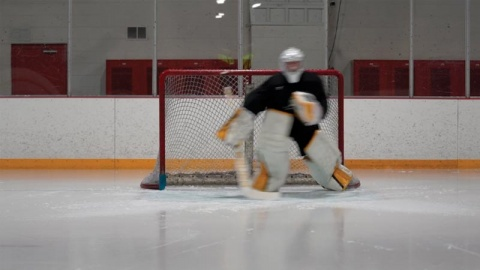T-Push Progression - Ice Hockey Goalie Training