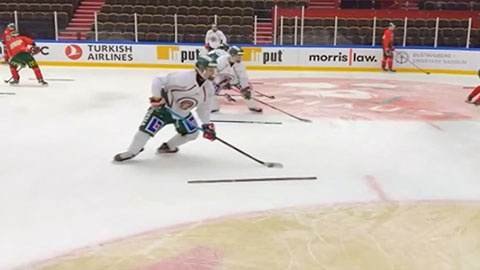 Open Hip Ladders With Puck