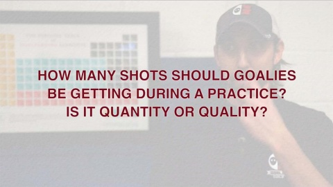 How Many Shots A Goalie Should Get At Practice