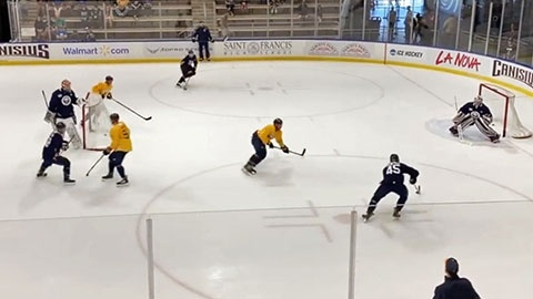 Levels 3 on 3 Small Area Hockey Game