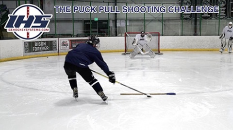 Puck Pull Shooting Challenge
