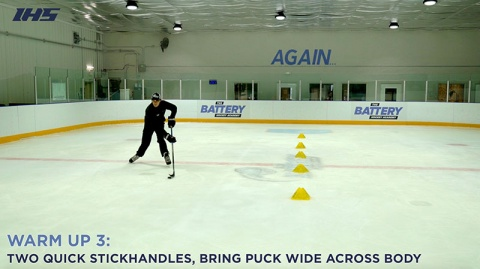 Stickhandling Warm Up Series From Battery Hockey