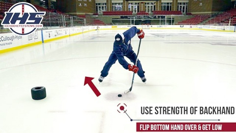 Strong Side Face-Off Tips