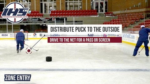 Ice Hockey Zone Entry Tips and Options