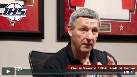 Denis Savard talks about preparing players for a big game