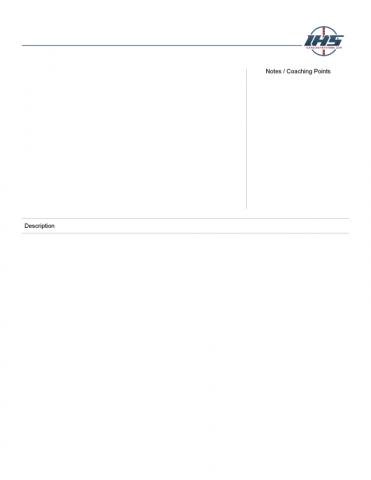 Blank Hockey Drill Template #2