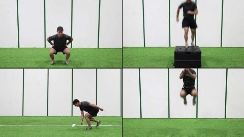 Heiden Circuit Leg Exercises for Hockey Players