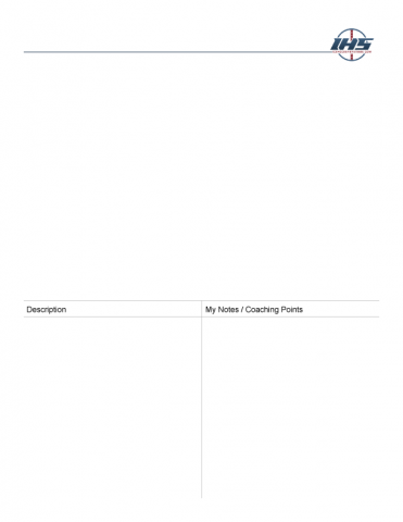 Blank Hockey Drill Template