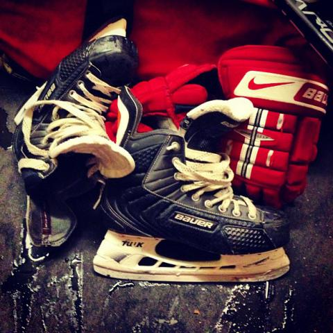Skates and Gloves