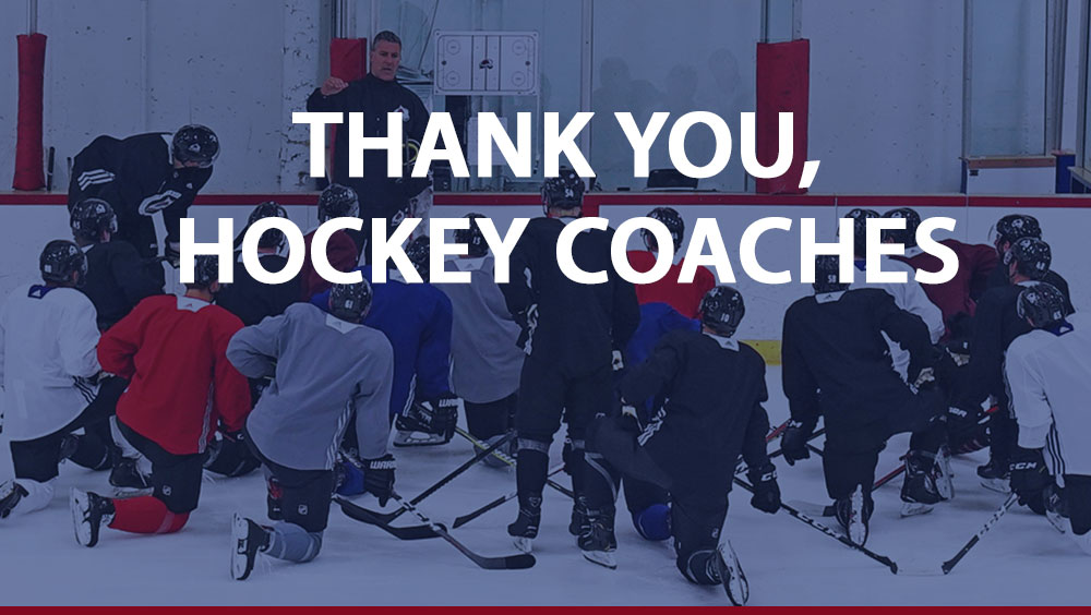 Thank You Great Hockey Coaches