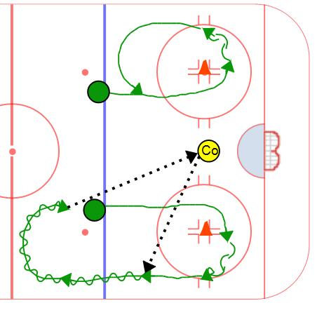 Smooth transitions with pucks