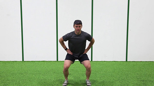 Undulating Squats